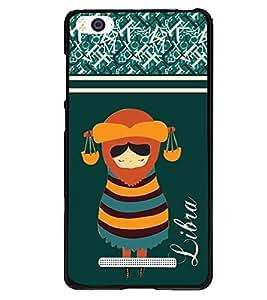 Fuson 2D Printed Sunsign Libra Designer back case cover for Xiaomi Mi 4i - D4401