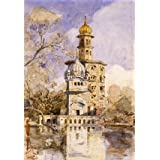 The Akalis Tower at Amritsar, by William Carpenter (Print On Demand)