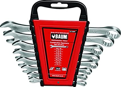 Baum-BM12E-8M-Combination-Spanner-Set