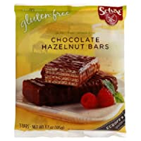 Schar, Bar Chocolate Hazelnut Wf Gf, 3.7-Ounce (12 Pack) from Schar
