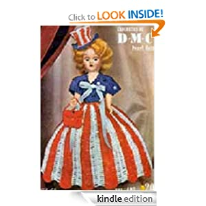 Miss America USA Doll - Vintage 1951 Crochet Patterns