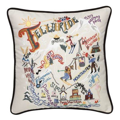Ski Telluride Pillow