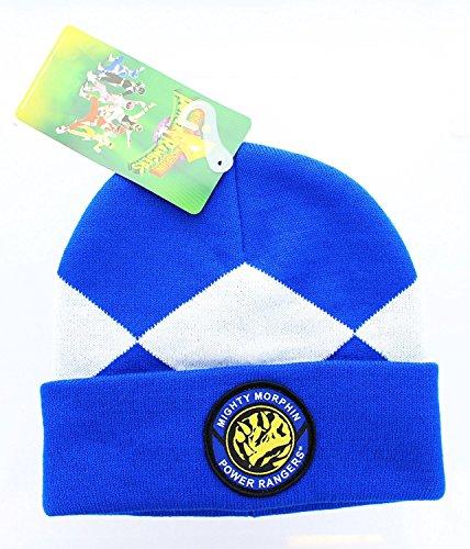Power Rangers Costume Beanie Hat (Blue Ranger), One Size (Power Rangers Blue Costume compare prices)