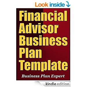 Free financial advisor business plan