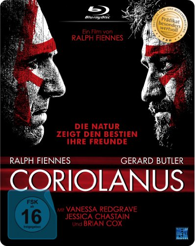 Coriolanus (Steelbook, Blu-ray)