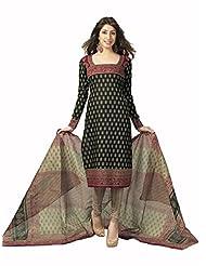 Samskruti Unstiched Cotton Printed Dress Material - B00PQXS6WU