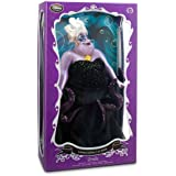 """Disney Store Limited Edition Ursula 17"""" Doll from The Little Mermaid"""