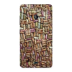 Stylish Bullet Bomb Back Case Cover for Lumia 540