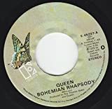 45vinylrecord Bohemian Rhapsody/I'm In Love With My Car (7