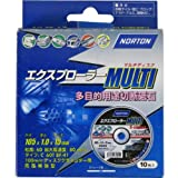 NORTON エクスプローラー MULTI マルチ 多用途切断砥石 105mm 10枚入り