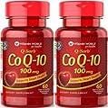 Vitamin World Q-Sorb Co Q-10 100mg -- 2 Bottles each of 60 Softgels