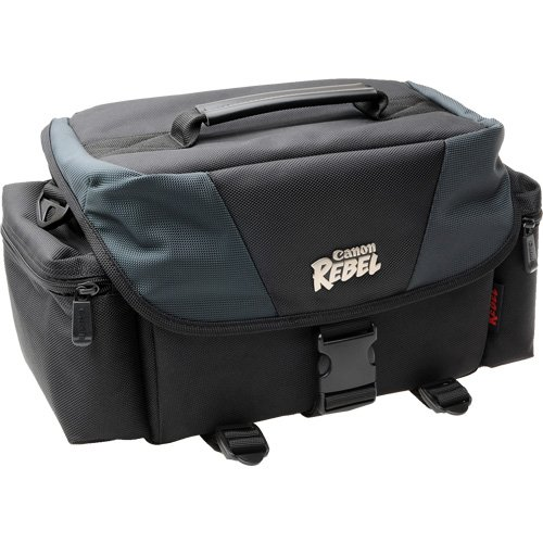 Canon SLR Gadget Bag For EOS or Rebel Cameras like T3, T3i, 60D, XS, and more