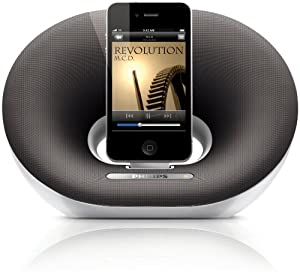 Philips DS3020/05 Portable Docking Speaker for iPod/iPhone - White