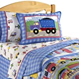 Olive Kids Trains, Planes, & Trucks Twin Comforter
