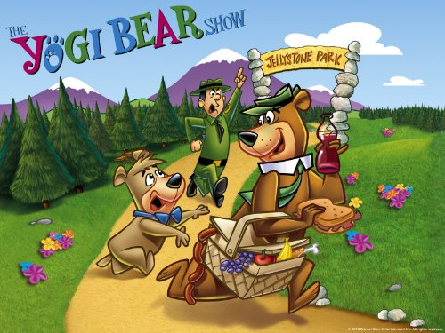 Yogi Bear Quotes Picnic Basket: Yogi Bear Picnic Basket