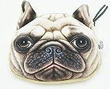 Shop XJ 小銭入れ 財布 犬 猫 動物 レディース メンズ コインケース ミニ (ブル部長)