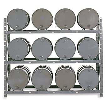 Amazon.com: Meco Drum Storage Rack - 12 Drums: Industrial & Scientific