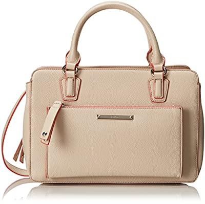 Nine West Zip N Go Satchel Top Handle Bag