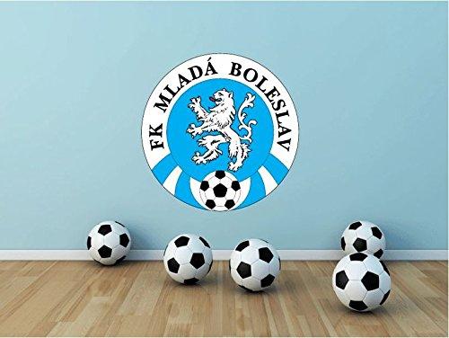 Mlada Boleslav FC Repubblica Ceca Calcio Calcio Sport parete vinile adesivo Home Decor 55x 55cm