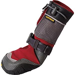 : Amazon.com: Polartrex Winter Dog Boots in Red Rock (Set