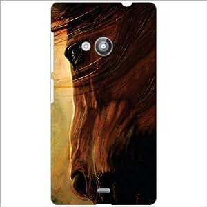 Nokia Lumia 535 Back Cover - Mountain Designer Cases