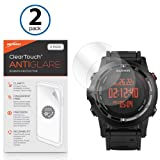 Garmin Fenix 2 Screen Protector, BoxWave [ClearTouch Anti-Glare (2-Pack)] Anti-Fingerprint Matte Film Skin for Garmin Fenix 2 (Color: Anti-Glare)