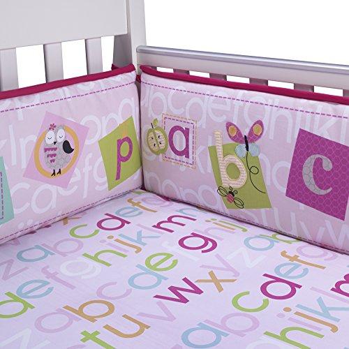 Lambs & Ivy Sweet ABC Crib Bumper - 1