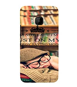 PrintVisa Coffee Quotes Design 3D Hard Polycarbonate Designer Back Case Cover for HTC One M9