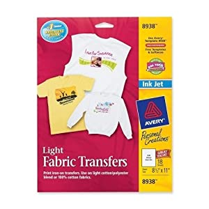 Avery Consumer Products Iron On T Shirt