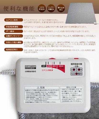日本製 plywood オリジナル 電磁波99%カット 電子コントロールカーペット [ラグなし単体]