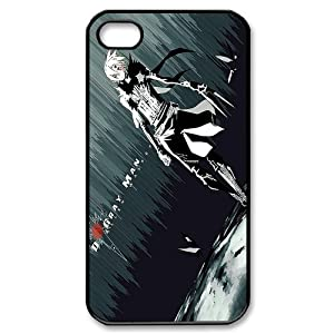 PC-Beauty Custom Design 8 Cartoon&Anime D.Gray Man Black Print Hard Shell Cover Case for iPhone 4/4S