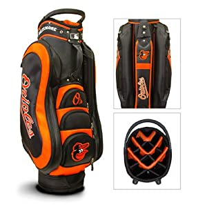 Baltimore Orioles MLB Medalist Golf Cart Bag - Team Golf by Team Golf