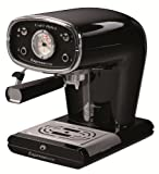 Espressione New Café Retro Espresso Machine, Black