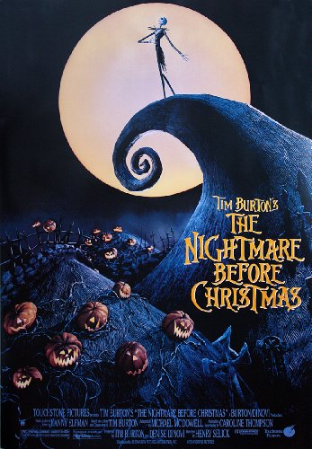 Nightmare Before Christmas poster (68 cm x 98 cm)