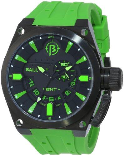 Ballast Men's BL-3108-0B Valiant Analog Display Swiss Quartz Green Watch