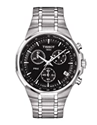 Tissot PRX Classic Chronograph Black Dial Mens Watch T0774171105100