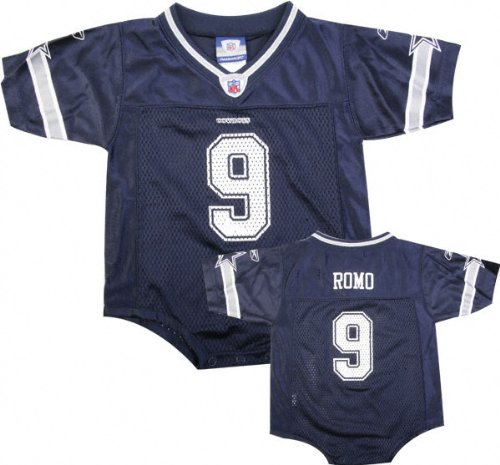 e985267955a Tony Romo Reebok NFL Navy Dallas Cowboys Infant Jersey - 18 months