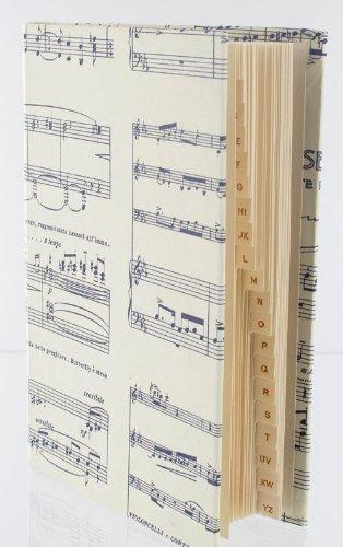 Adressbuch-Butterfly-gro-Schnes-Geschenk-fr-Musiker