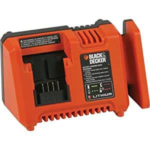 Black & Decker L2ACF-OPE 20V MAX Lithium Ion Fast Charger