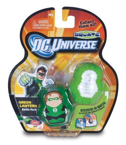 DC Universe Squatz -  Green Lantern and Mystery Character - 1