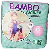 Abena Bambo Nature Premium Baby Diapers, Training Pant, Size 6, 18 Count
