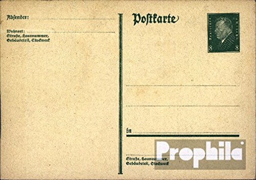 Allemand Empire p181i Officiel Carte postale 1928 ebert (Documents entiers postaux pour les collectionneurs)