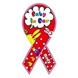 Rody Baby in Car -Red ロディ ベイビー・イン・ カー レッド リボンマグネット