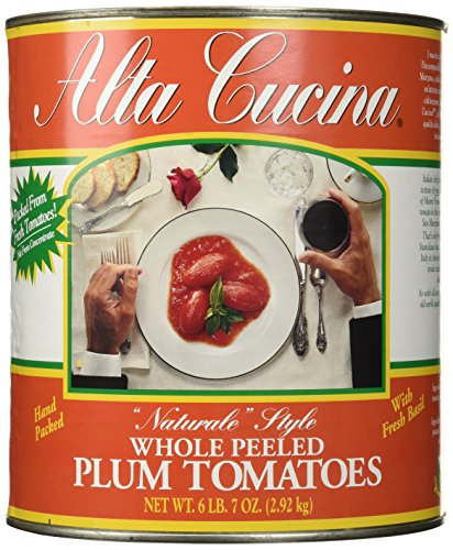 Stanislaus Alta Cucina Whole Tomatoes, 6.43 Pound (Canned Plum Tomatoes compare prices)