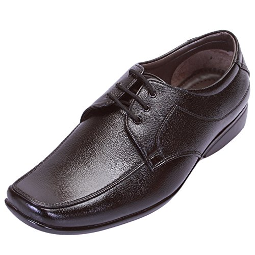 Shoebook Men's Synthetic Black Formal Shoes -10 UK