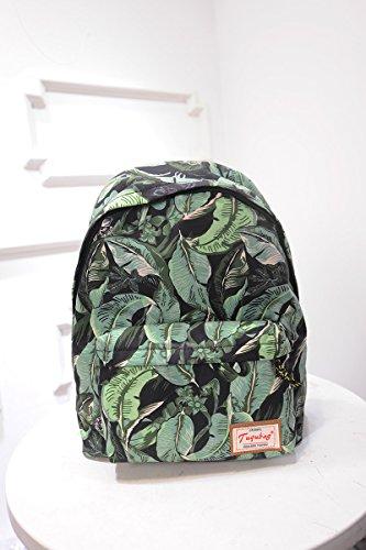 retro-blatt-drucken-rucksack-ethnischen-korean-air-travel-rucksack-schulranzengreen-leaf