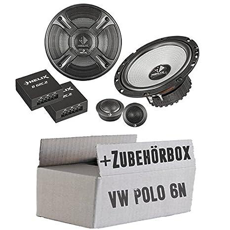 VW Polo 6N - Helix - B 62C.2 - 16cm 2-Wege Lautsprecher System - Einbauset