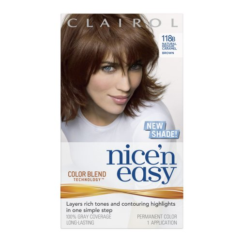 Clairol Nice 'N Easy 118B Natural Medium Caramel Brown (Pack Of 2) front-580425
