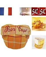 Panier à Pain - Rabat en portefeuille. 34 X 25 cm. Fab. France