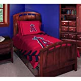 MLB Los Angeles Angels Bedding Set, Twin at Amazon.com